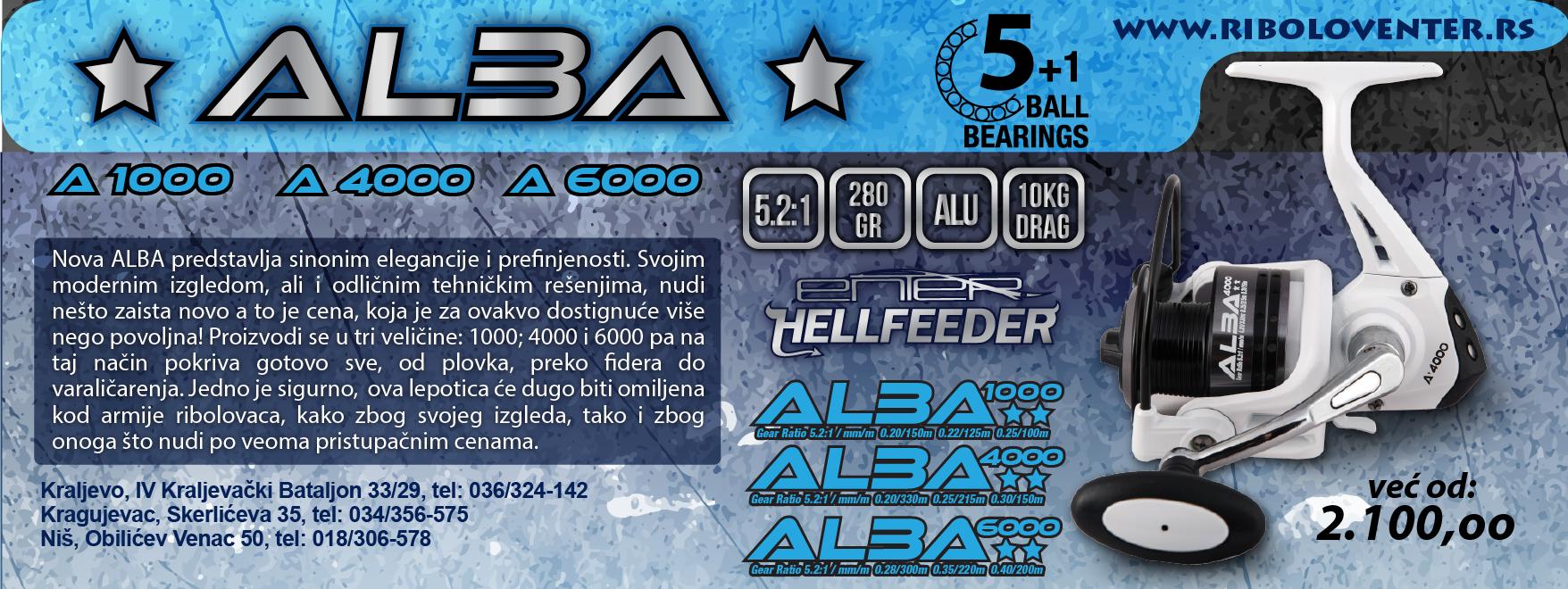 ENTER ALBA (5+1 ležaj)