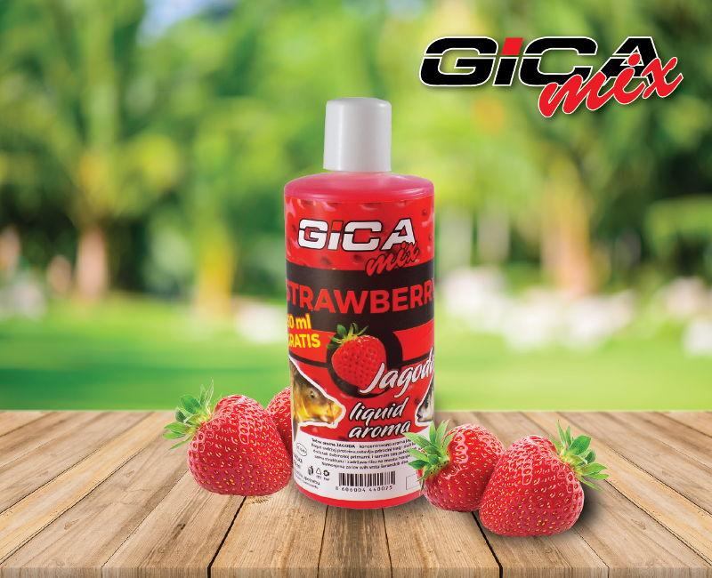 Gica Mix Liquid Aroma 250ml + 50ml Jagoda