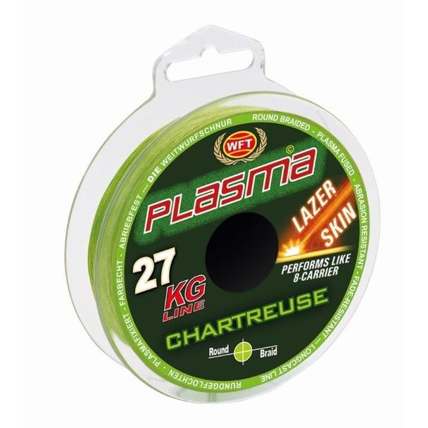 WFT Upredena Struna Plasma Chartreuse Lazer Skin 0.14mm 18kg 150m