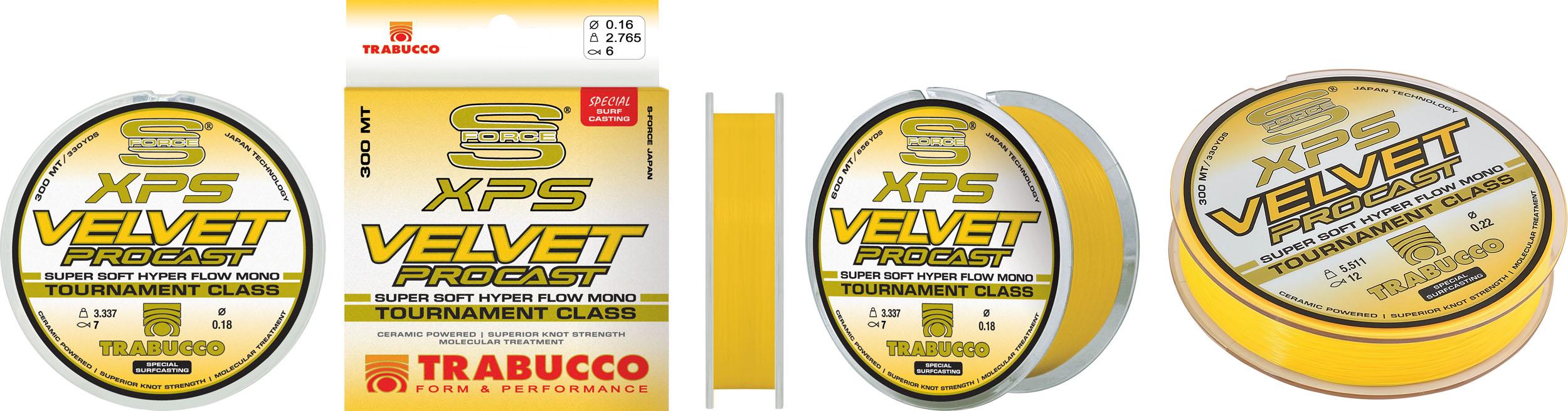 Trabucco XPS Velvet Procast 0.25mm 300m