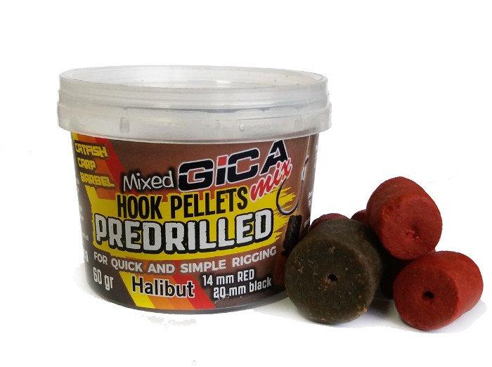 Gica Mix Hook Pellets Predrilled 60gr