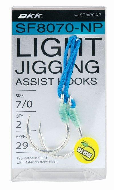 BKK Light Jigging Assist Hook #11/0 SF 8070-NP