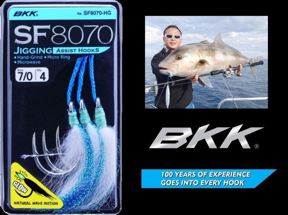 BKK Jigging Assist Hooks #11/0 SF 8070