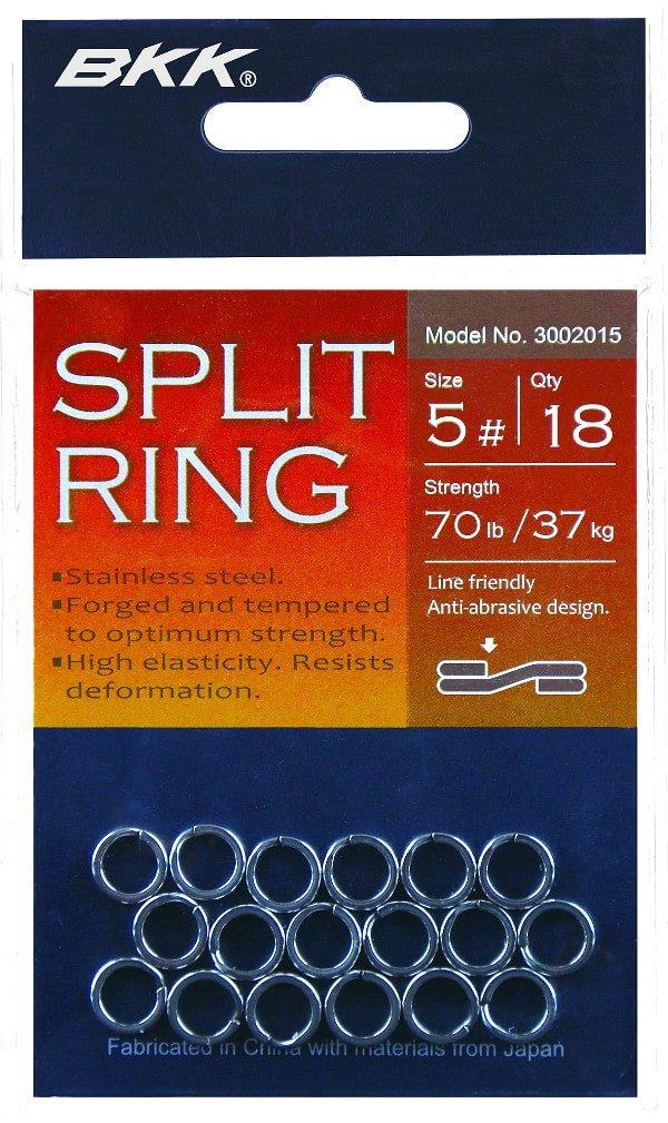 BKK Split Ring #8 68kg 3002110