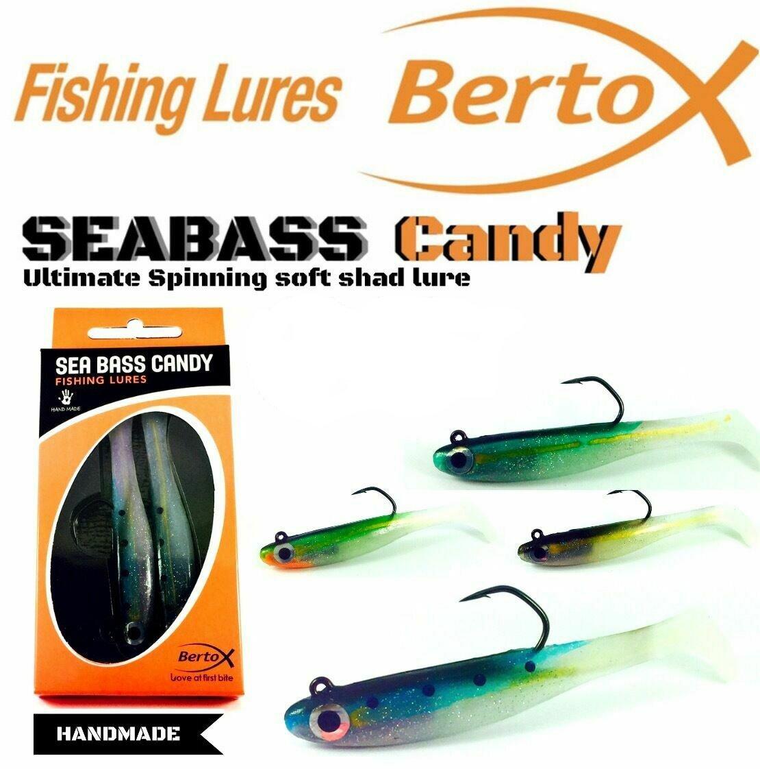 Bertox Seabass Candy Blue 90mm 11gr