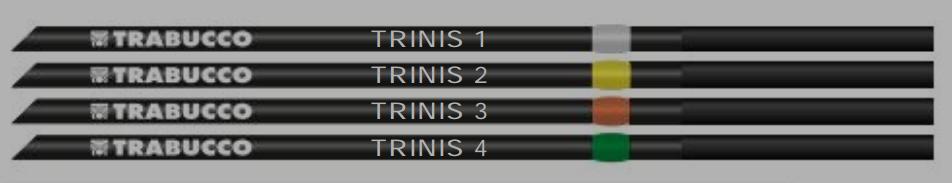 Trabucco TRINIS 4 2.6mm 53cm Tips