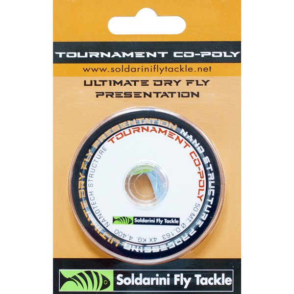 Soldarini Fly Tackle TOURNAMENT CO-POLY X6 50m 0.122mm