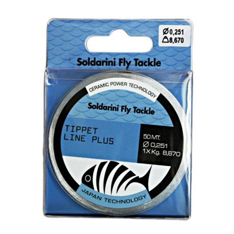 Soldarini Fly Tackle TIPPET LINE PLUS 50m 0.181mm