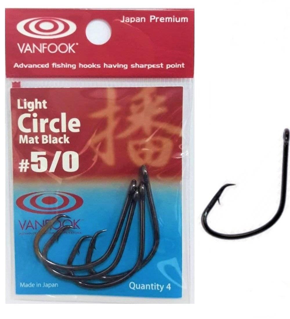 VANFOOK Light Circle Mat Black #5/0