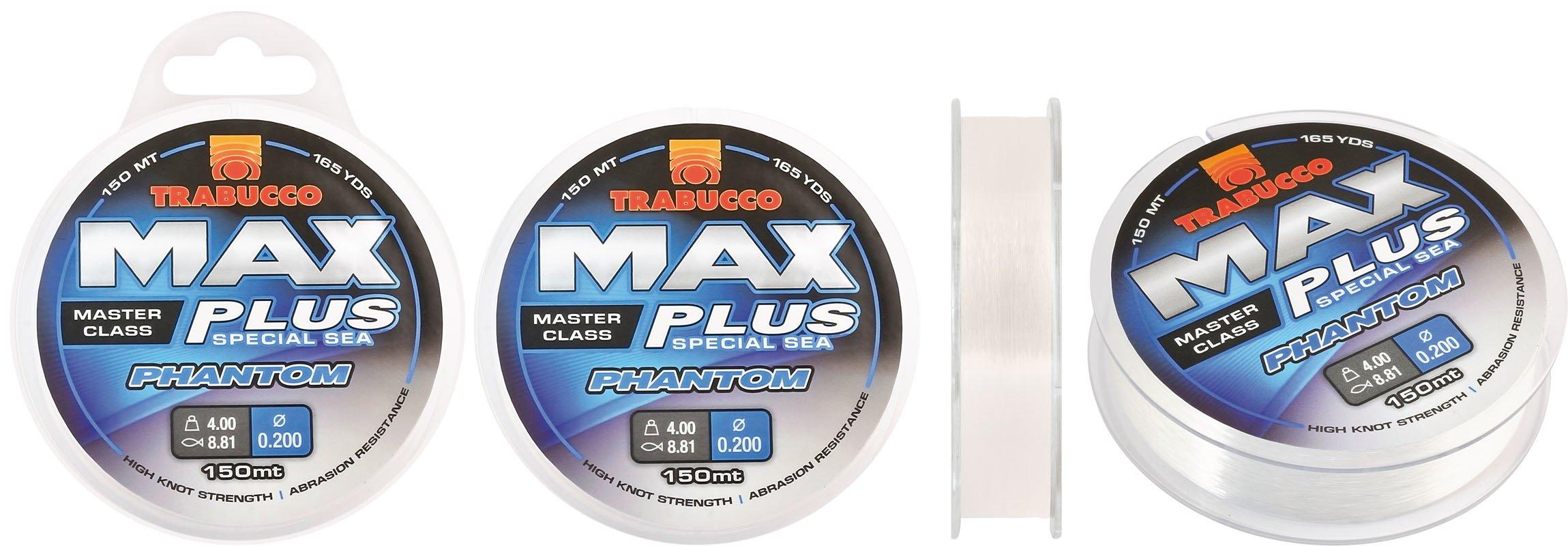 Trabucco Max Plus PHANTOM 150m 0.18mm