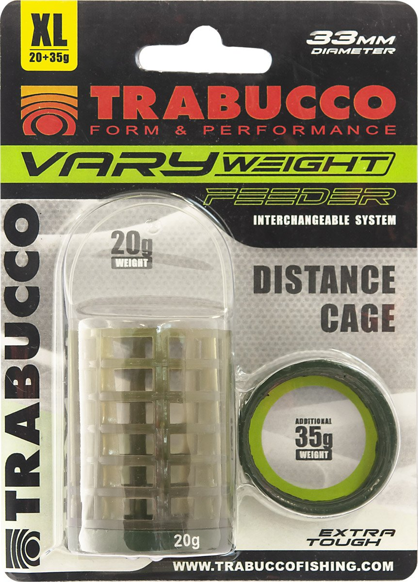 Trabucco VARY WEIGHT FEEDER Distant Cage M