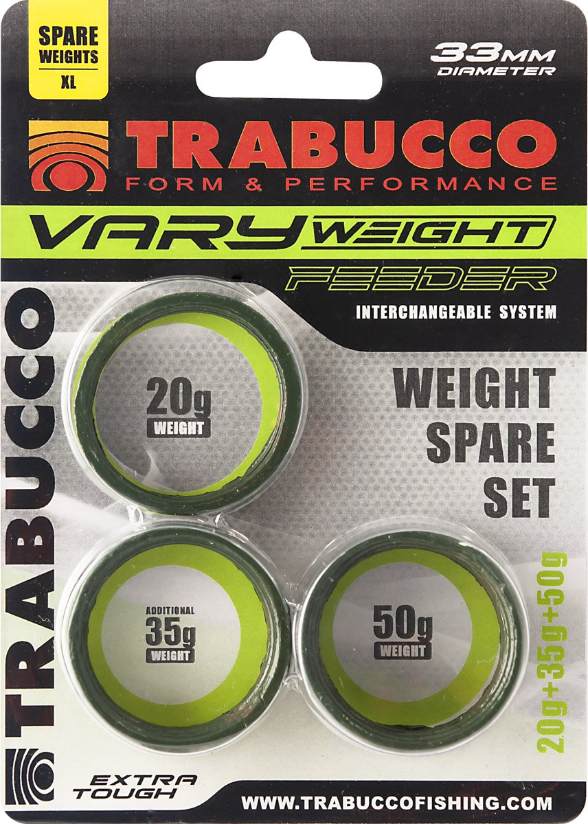 Trabucco VARY WEIGHT FEEDER SPARE SET 20/35/50gr