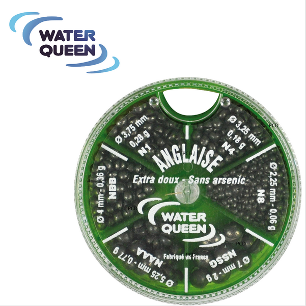 Water Queen BOITE PLOMBS ANGLAIS 6 CASES 131000213
