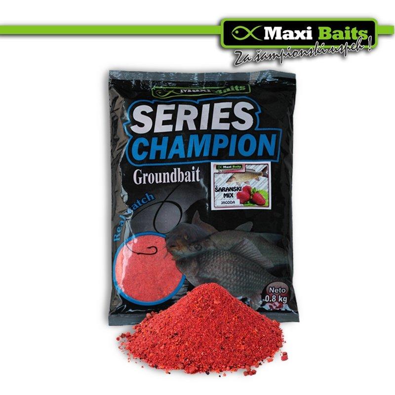 Maxi Baits Champion Šaranski Mix Sweet Corn 0.8 Kg
